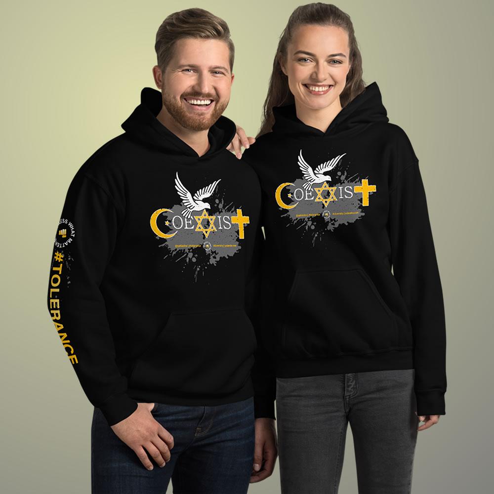 Coexist Graphic Sweatshirt Showcase