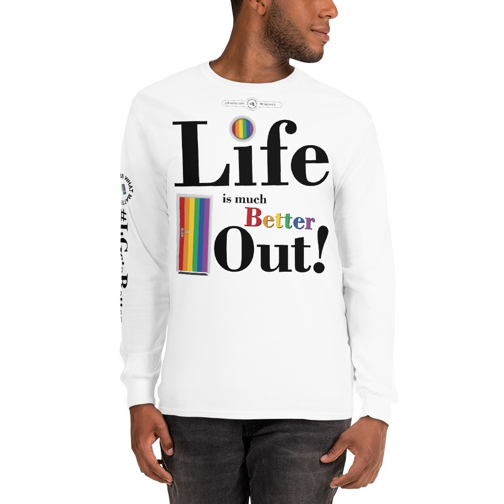 Life is much Better Out! Long Sleeve Graphic Tee