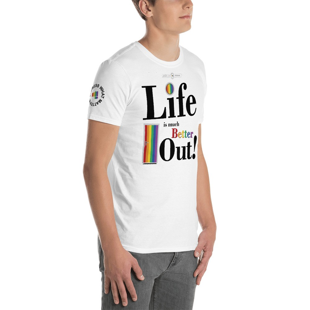 Life is much Better Out Short Sleeve Tee