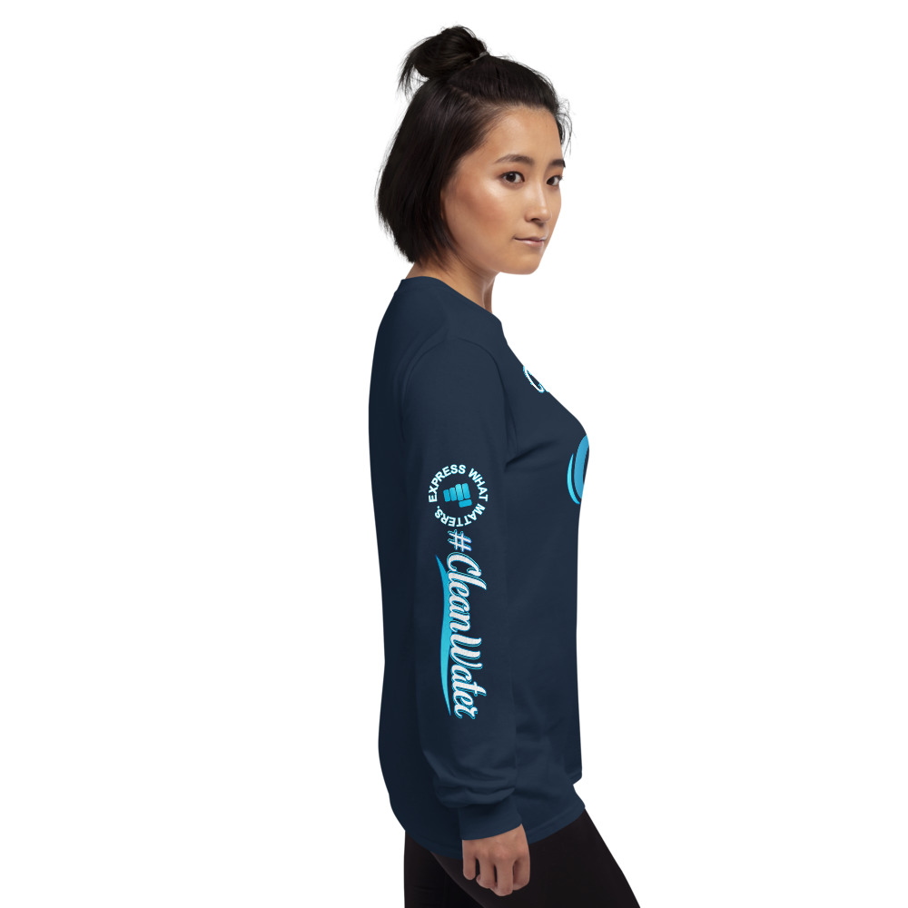 Clean Water is our First Medicine Long Sleeve Tee
