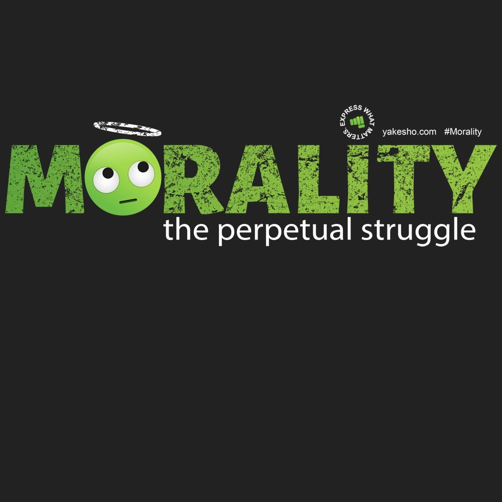Morality: The Perpetual Struggle Design