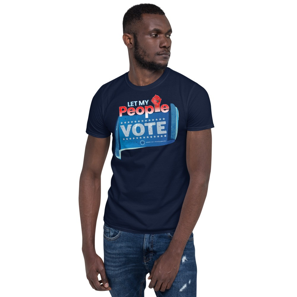 Let my People Vote Unisex Short Sleeve T-Shirt