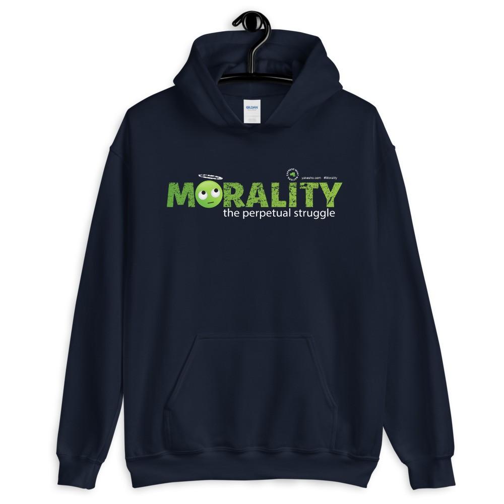 Morality the Perpetual Struggle Unisex Hoodie