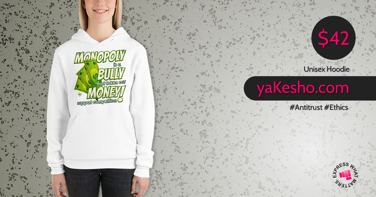 Monopoly Is A Bully That Takes Our Money Hoodie Sm