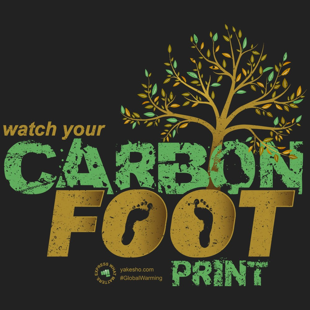 Watch Your Carbon Footprint Design