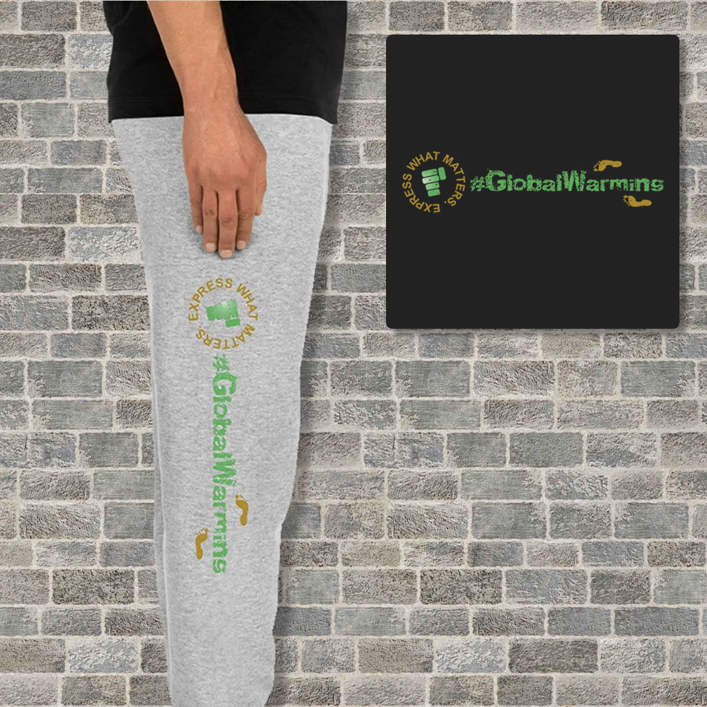 Watch Your Carbon Footprint Unisex Joggers