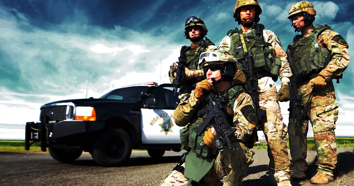 Militarization creates a police culture that paints the people as 'the enemy'
