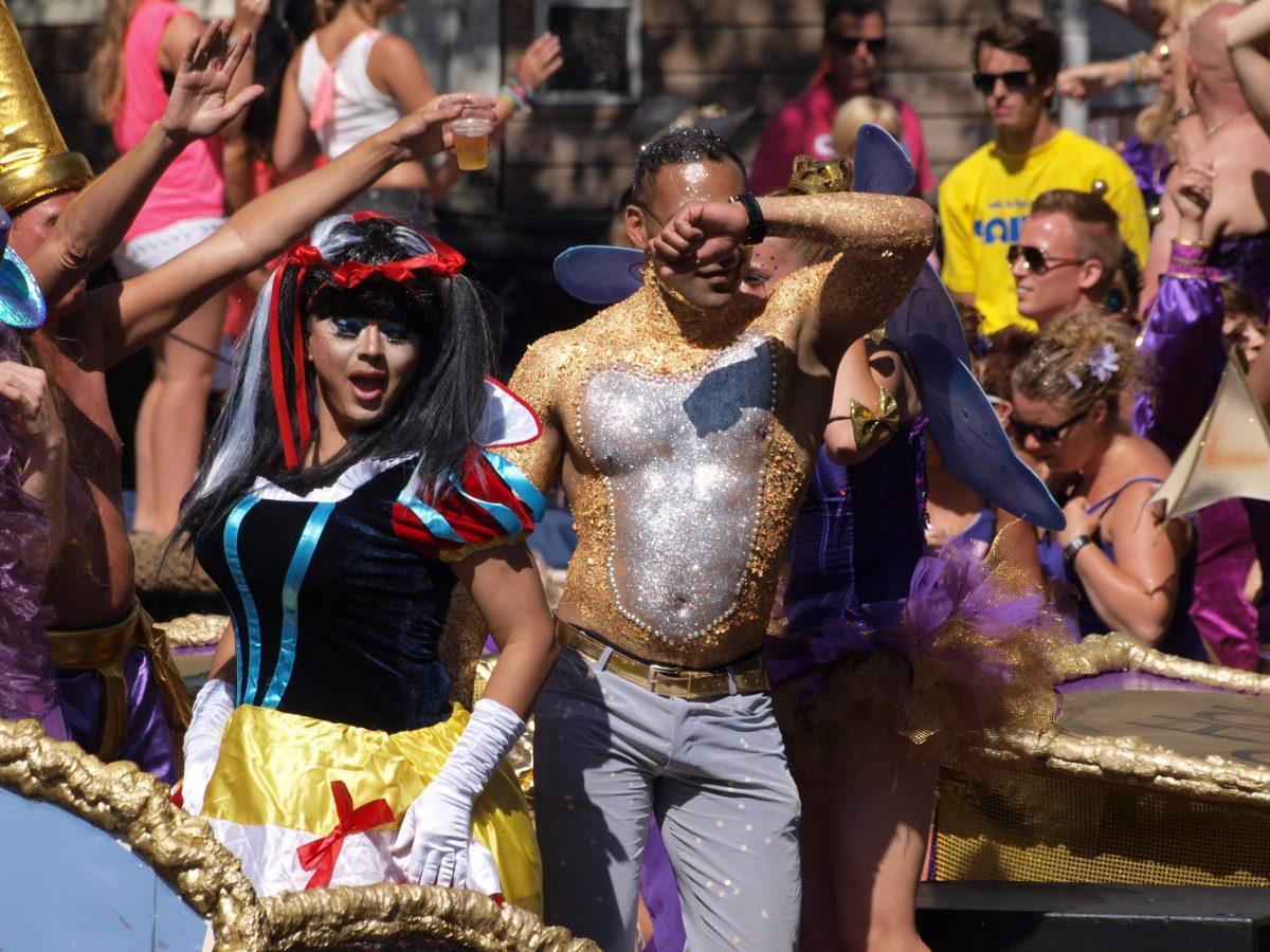 Gay Pride In Amsterdam. Celebrate the life and struggles of Sarah Hegazi.