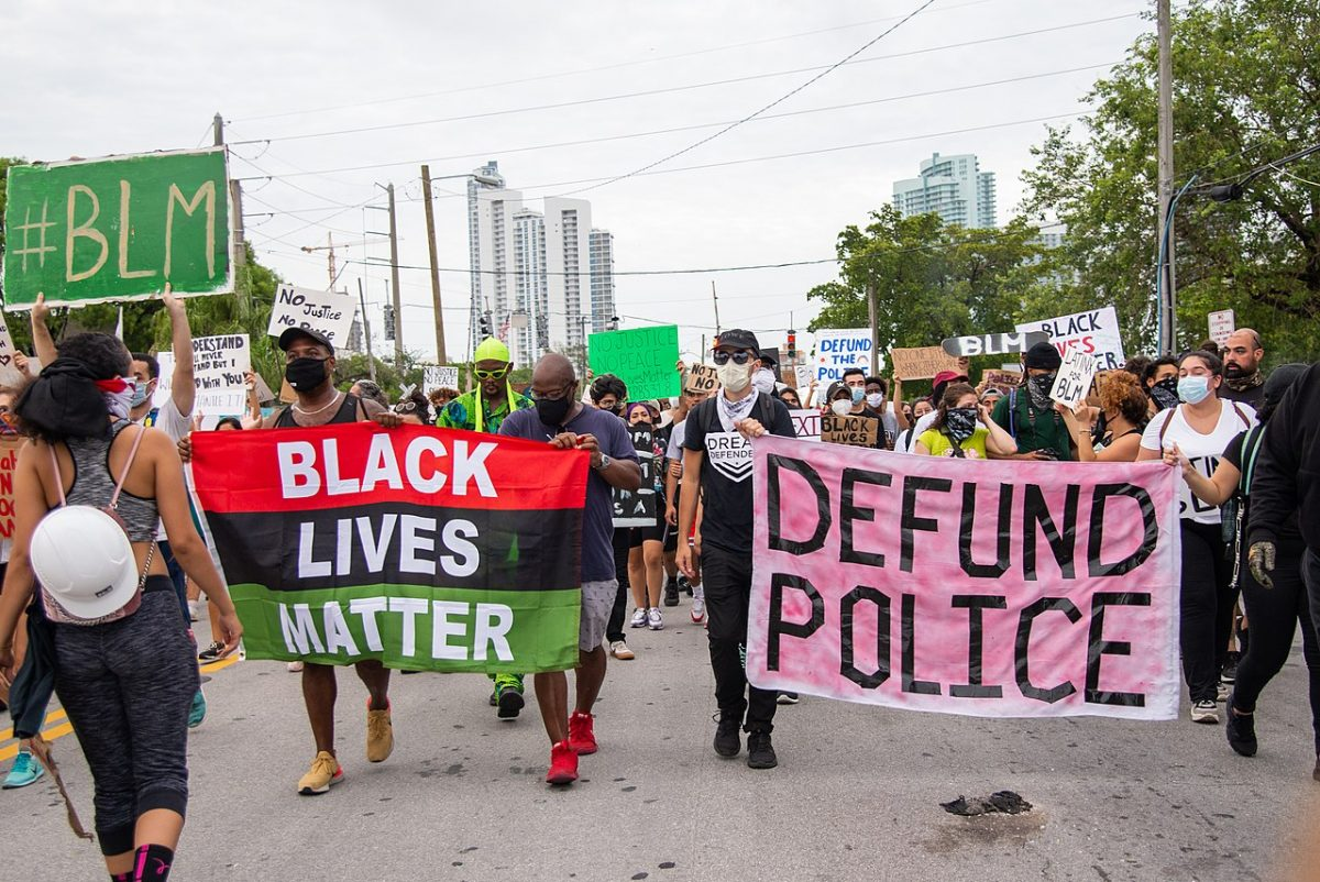 George Floyd Miami Protest. Reimagining public safety.