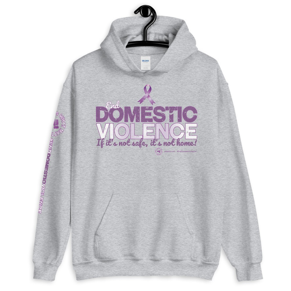 End Domestic Violence Unisex Hoodie