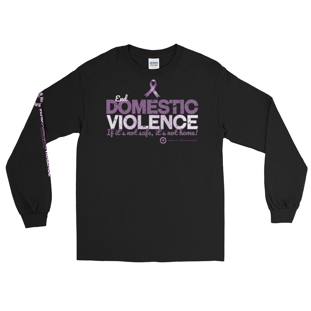 End Domestic Violence Unisex Long Sleeve T-Shirt