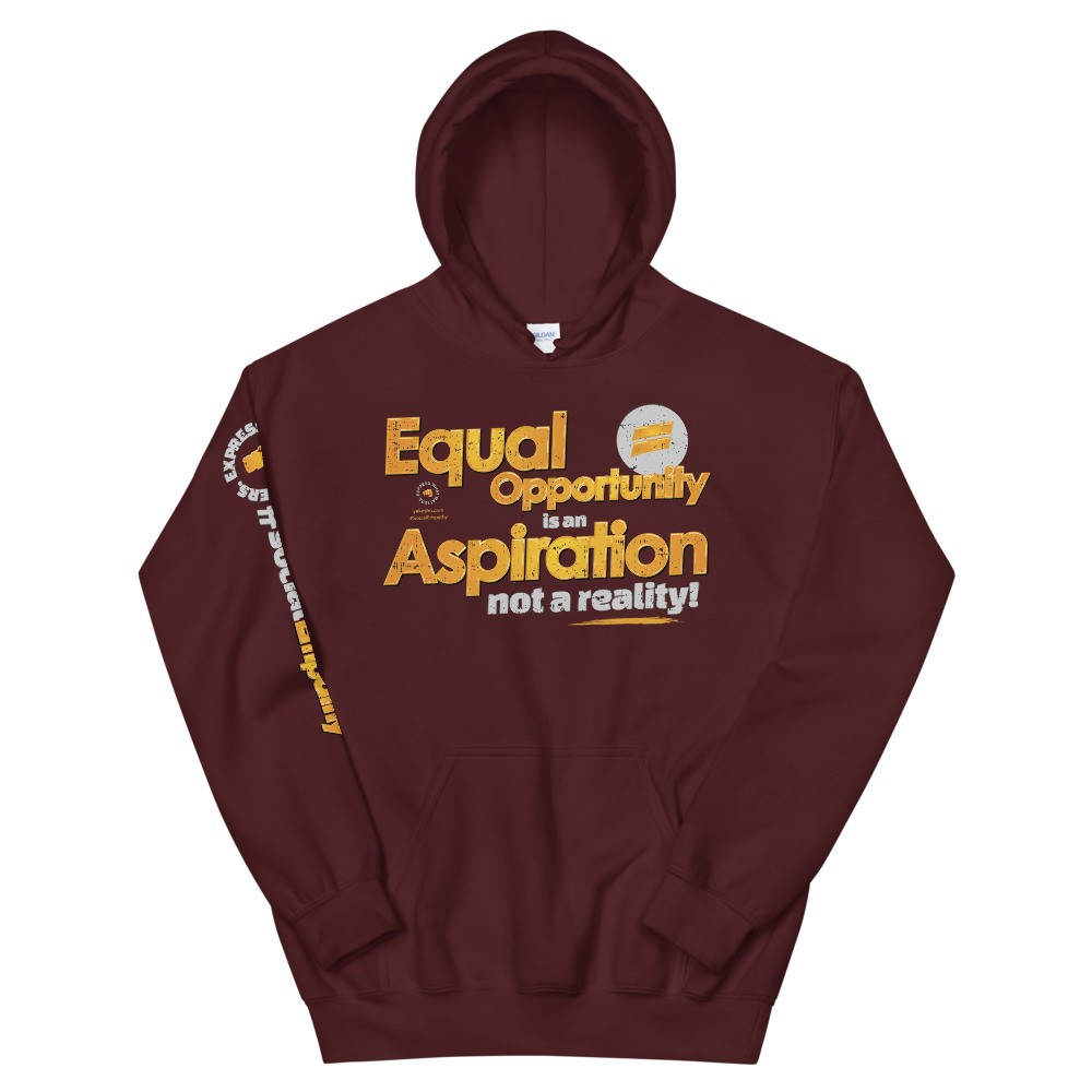 Equal Opportunity is an Aspiration Unisex Hoodie