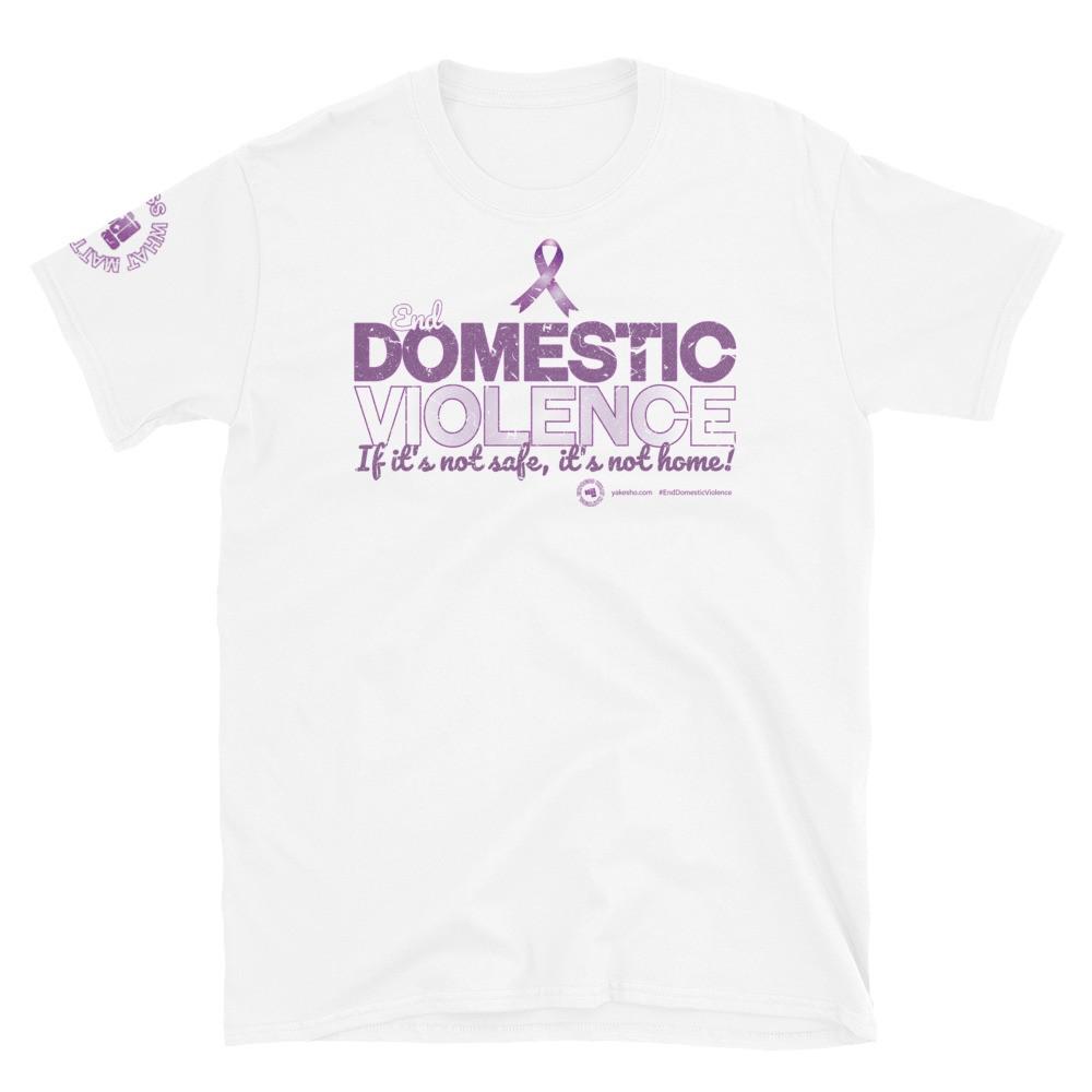 End Domestic Violence Unisex Short Sleeve T-Shirt