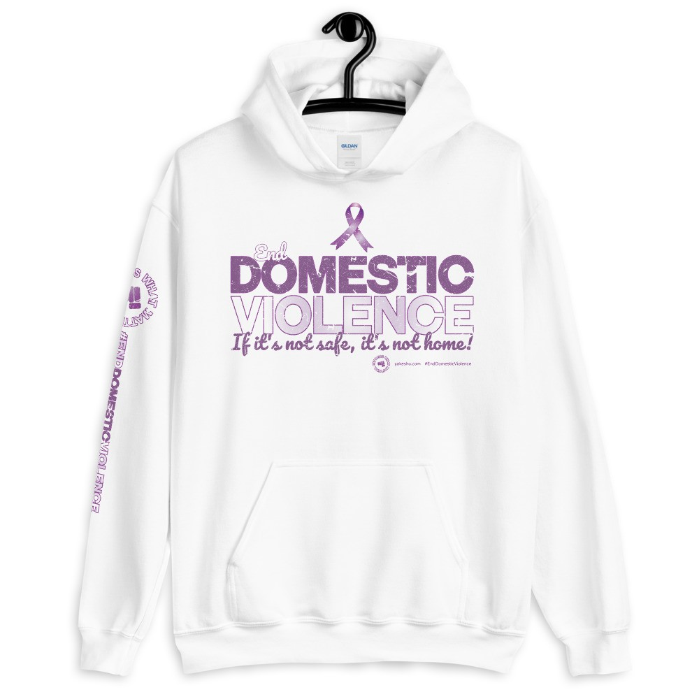 End Domestic Violence Unisex Hoodie