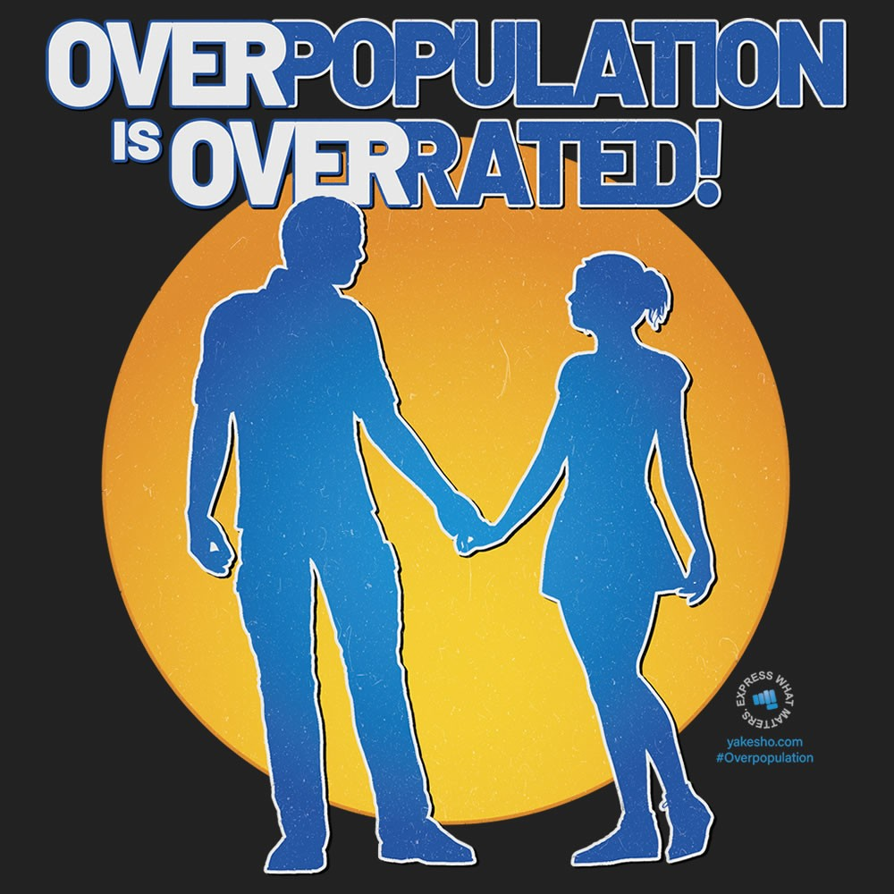 Overpopulation Is Overrated Design