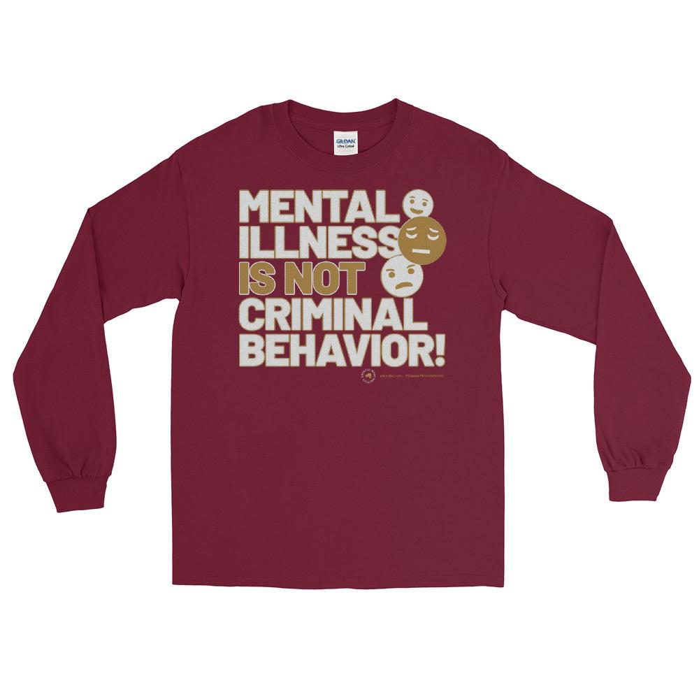 Mental Illness Is Not Criminal Behavior Long Pin