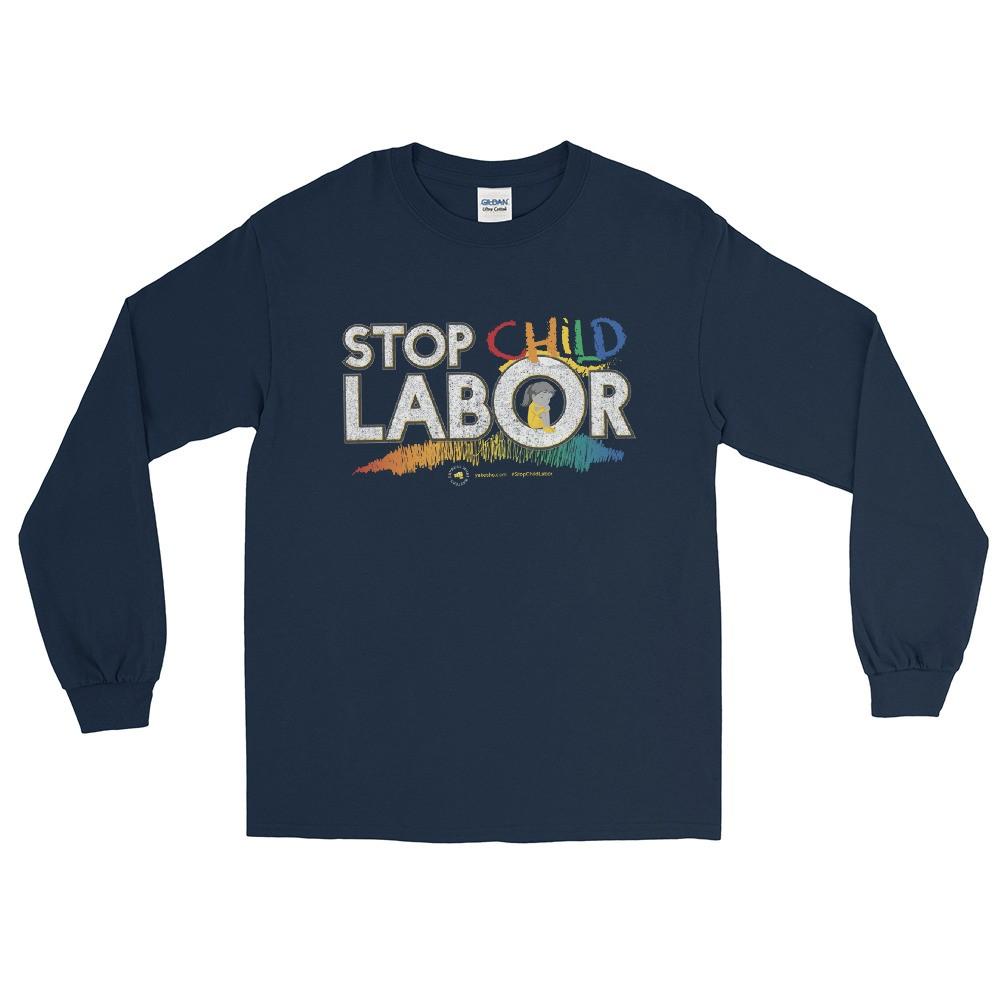 Stop Child Labor Unisex Long Sleeve T-Shirt