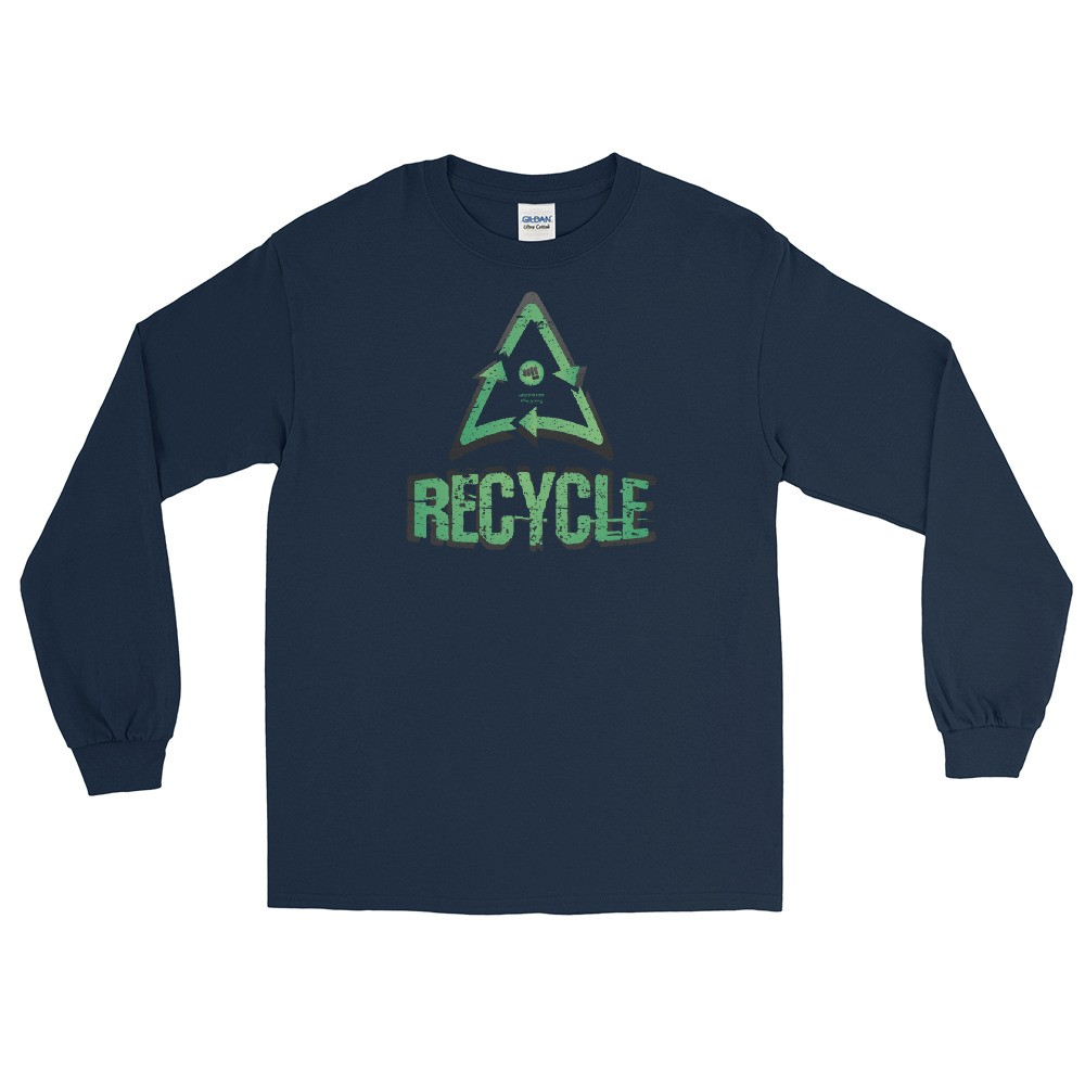 Recycle Unisex Long Sleeve T-Shirt