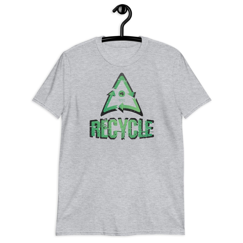 Recycle Unisex Short Sleeve T-Shirt