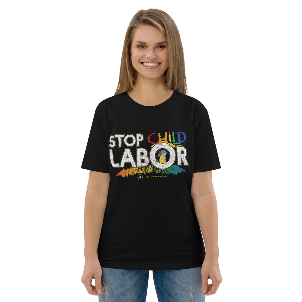 Stop Child Labor Unisex Short Sleeve T-Shirt