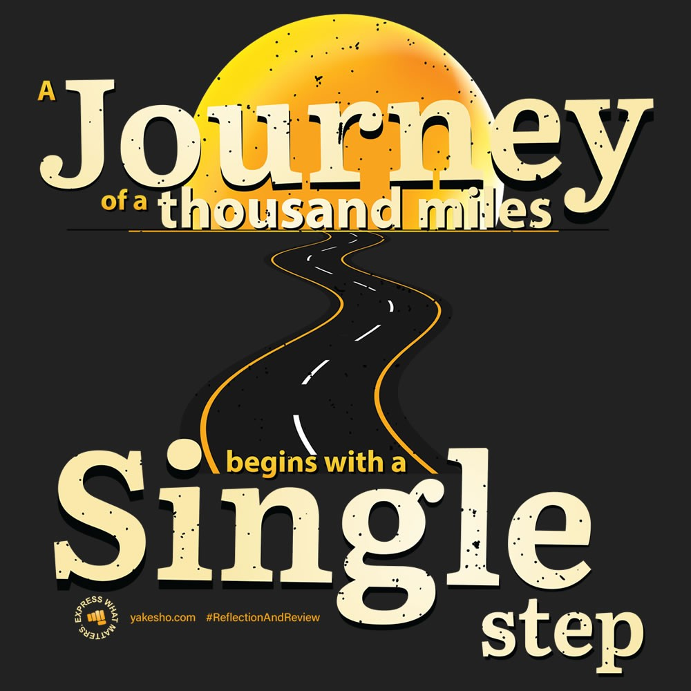 A Journey Of A Thousand Miles Design
