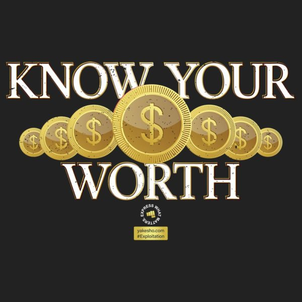 Know Your Worth Design