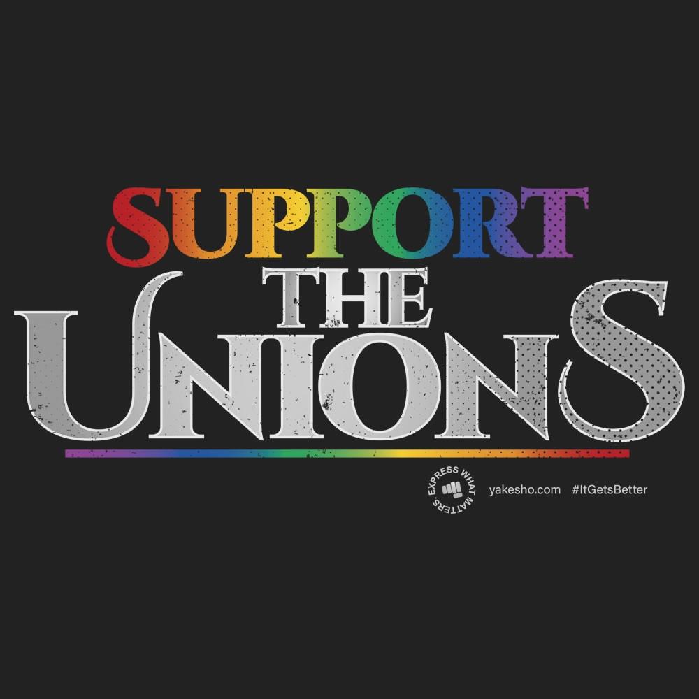 Lgbtq Support The Unions Design