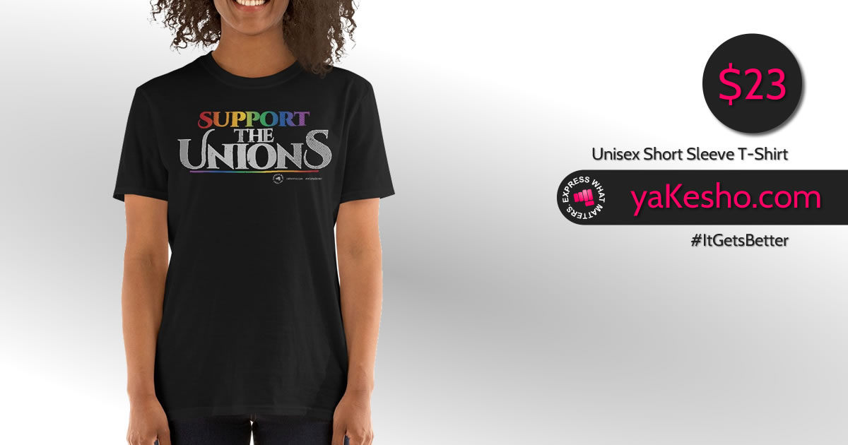 Lgbtq Support The Unions Short Sm