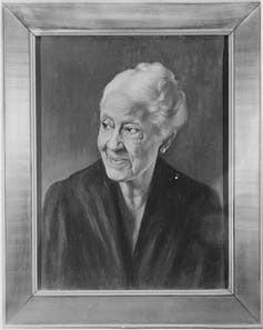 A portrait of Mary Church Terrell.