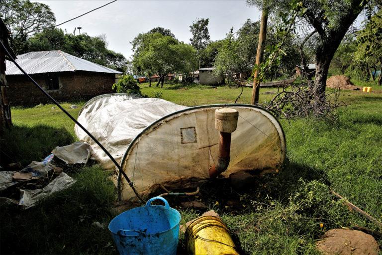 Biogas Unit In Dunga Village