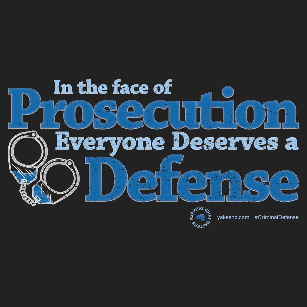 Face Of Prosecution Design
