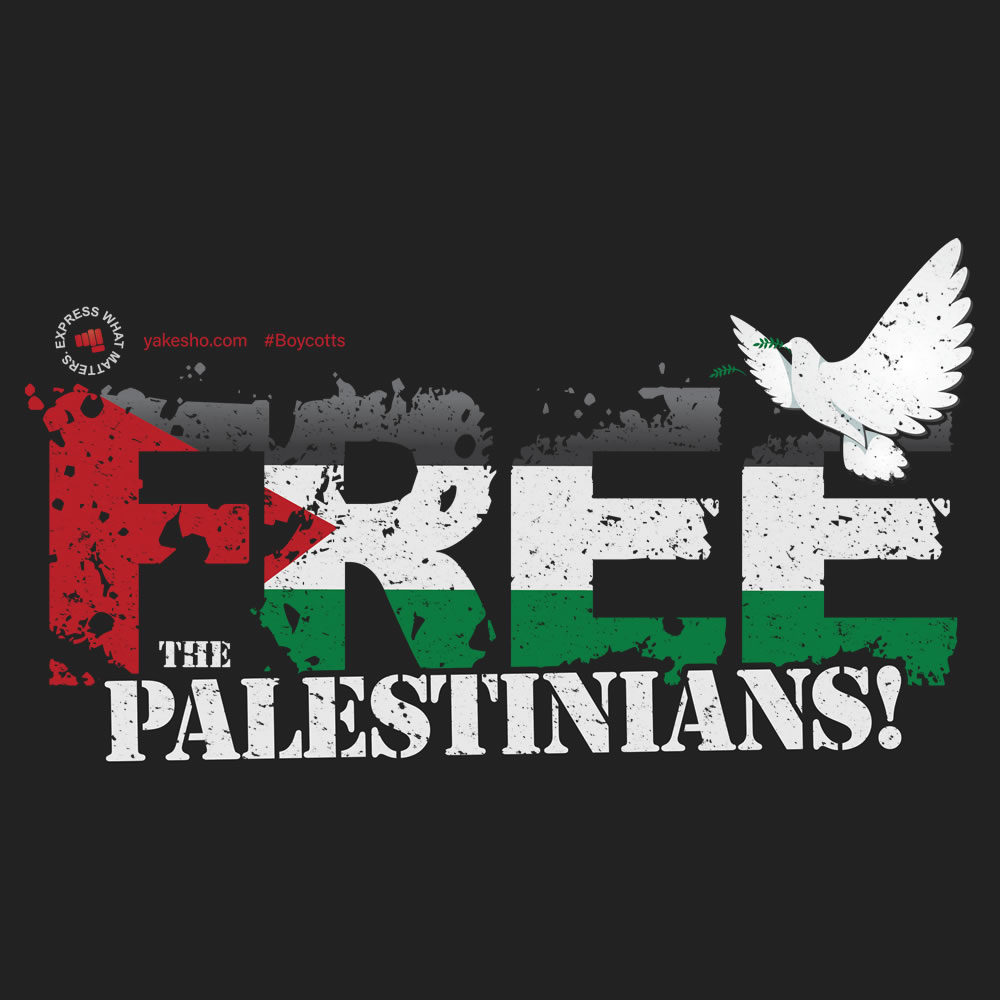 Free The Palestinians Design