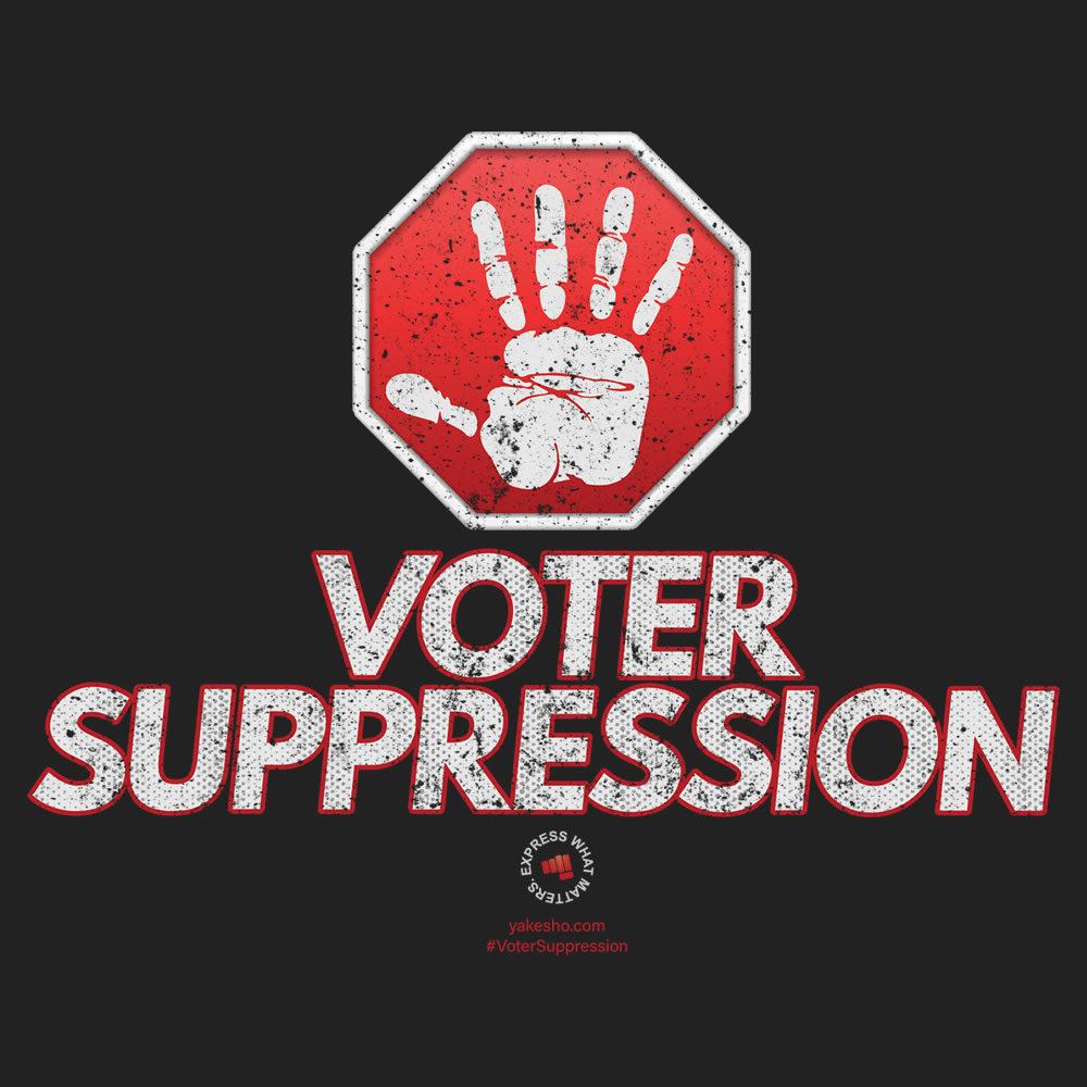 Stop Voter Suppression Design