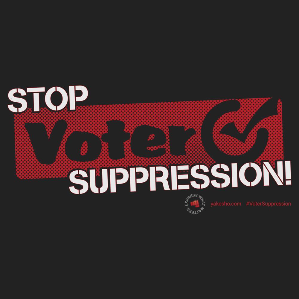 Stop Voter Suppression 2 Design